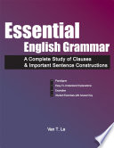 Essential English Grammar  A Complete Study of Clauses   Important Sentence Constructions