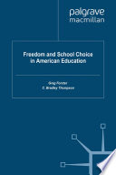 Freedom and School Choice in American Education Pdf/ePub eBook