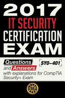 2017 IT Security Certification Exam