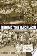 Behind the Backlash Pdf/ePub eBook
