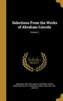 SELECTIONS FROM THE WORKS OF A