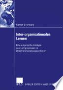 Inter-organisationales Lernen