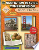 Nonfiction Reading Comprehension  Social Studies  Grade 5