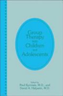 Group Therapy with Children and Adolescents
