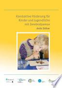 Konduktive F  rderung f  r Kinder und Jugendliche mit Zerebralparese