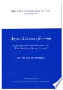 Beyond Écriture Féminine