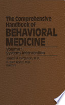 The Comprehensive Handbook Of Behavioral Medicine