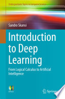 Introduction To Deep Learning : to deep learning, offering a wide range of...