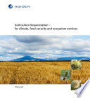 Soil Carbon Sequestration – For Climate, Food Security And Ecosystem Services : global greenhouse gas emission and can contribute...