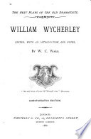 William Wycherley Book PDF