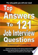 Top Answers To 121 Job Interview Questions Ebook
