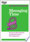 Managing Time  20 Minute Manager Series