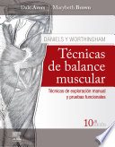 Daniels Y Worthingham T Cnicas De Balance Muscular