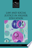 Law and Social Justice in Higher Education