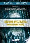 L Indagine Investigativa  Manuale Teorico Pratico