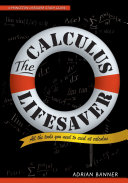 The Calculus Lifesaver  All the Tools You Need to Excel at Calculus
