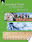 Leveled Texts for Mathematics: Measurement