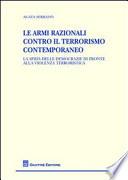 Le armi razionali contro il terrorismo contemporaneo