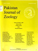 Pakistan Journal of Zoology