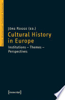 Cultural History in Europe
