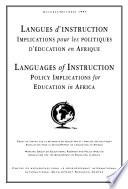 Languages of Instruction