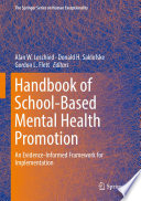 Handbook of School Based Mental Health Promotion