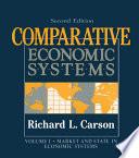 Comparative Economic Systems V 1 book