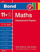 Bond Maths Assessment Papers  11  12  Years