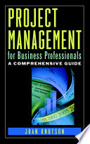 Project Management For Business Professionals : at long last crossed over to mainstream business....