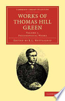 Ebook Works of Thomas Hill Green Epub Thomas Hill Green,R. L. Nettleship Apps Read Mobile