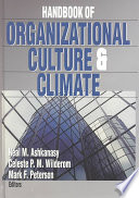 Handbook of Organizational Culture and Climate