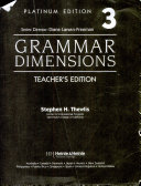 Grammar Dimensions