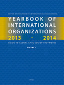 Yearbook Of International Organizations 2013 2014 Volumes 1a 1b  book