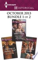 Harlequin Historical October 2013 Bundle 1 Of 2