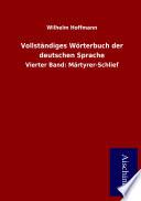 Vollständiges Wörterbuch der deutschen Sprache