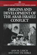 Origins and Development of the Arab Israeli Conflict Book PDF