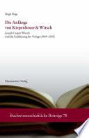 Die Anfänge von Kiepenheuer & Witsch