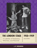 download ebook the london stage 1950-1959 pdf epub