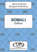 Somali Word to Word   Bilingual Dictionary