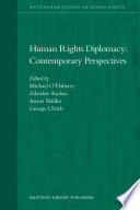 Human Rights Diplomacy  Contemporary Perspectives
