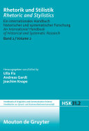 download ebook rhetorik und stilistik / rhetoric and stylistics. halbband 2 pdf epub