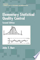 Elementary Statistical Quality Control  2nd Edition