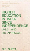 Higher Education in India Since Independence