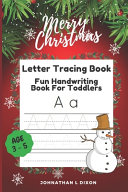 Letter Tracing Book Age 3 5