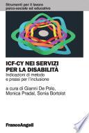 ICF CY nei servizi per la disabilit    Indicazioni di metodo e prassi per l inclusione