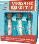 3 pack Message in a Bottle