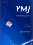 Yonsei Medical Journal