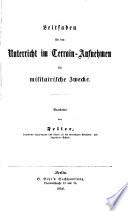 Grundriss fur die Vortr  ge auf der K  niglich vereinigten Artillerie  und Ingenieur Schule zu Berlin