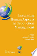 Integrating Human Aspects in Production Management