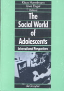 The Social World Of Adolescents